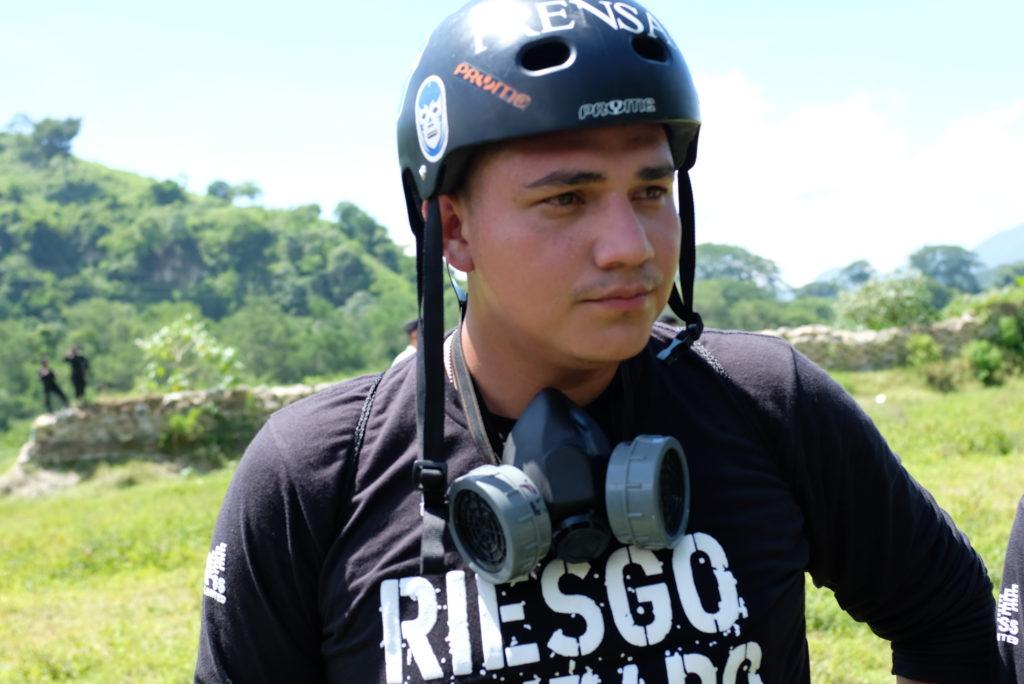 Safety training in El Salvador